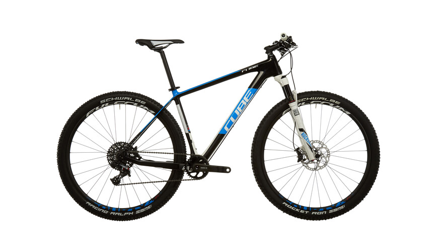 Cube Elite C:62 Race 29 1x carbon'n'blue